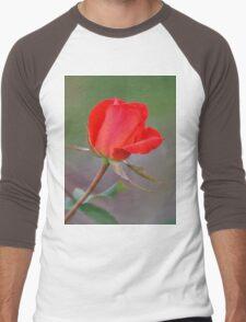 Valentine wish Men's Baseball ¾ T-Shirt
