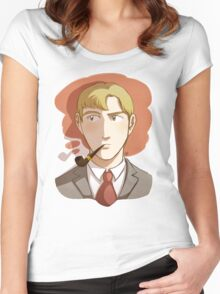 Mr. Graham Chapman Women's Fitted Scoop T-Shirt