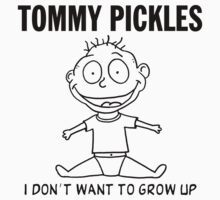 Tommy Pickles : Descendents / Rugrats by monstersoutside