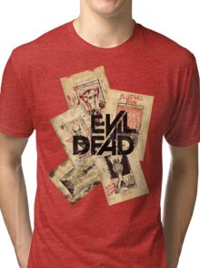 the evil dead ash vs the evil dead army of darkness  Tri-blend T-Shirt