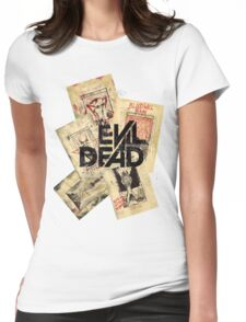 the evil dead ash vs the evil dead army of darkness  Womens Fitted T-Shirt
