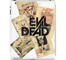 the evil dead ash vs the evil dead army of darkness  iPad Case/Skin