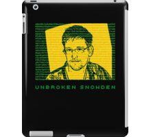 Unbroken Snowden iPad Case/Skin