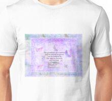 Mahatma Gandhi about animals Unisex T-Shirt