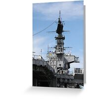 Navy Ship Greeting Card