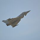 RAF Typhoon FGR4 by mike  jordan.