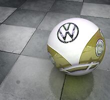 VW Ball _ Mustard by Vin  Zzep