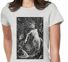 THE MERMAIDS POLLUTION TORMENT (FOR LIGHT BACKGROUND) Womens Fitted T-Shirt