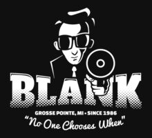 Grosse Pointe Blank (white) Kids Tee