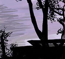 Claremont Silhouette by Daire Ó'Hearáin-Olsen