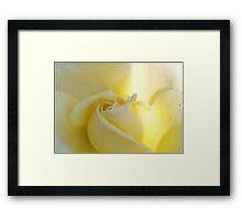 Sweet and hopeful Framed Print