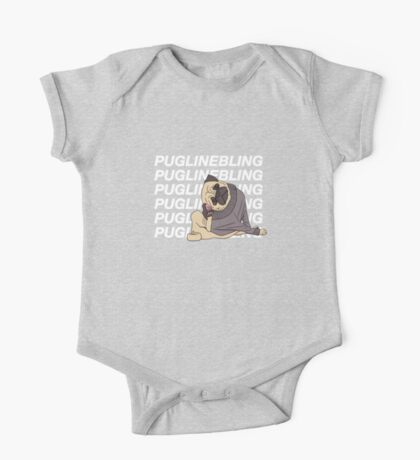 Pugline Bling One Piece - Short Sleeve
