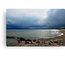 Baltic Sea Side clouds Canvas Print