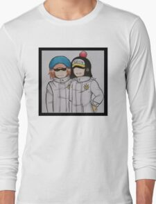 Shachi and Penguin Long Sleeve T-Shirt