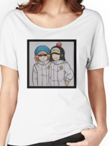 Shachi and Penguin Women's Relaxed Fit T-Shirt