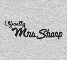 Customized tshirt Mrs. Sharp by wangry