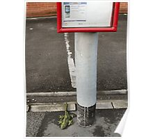 abandoned: waiting for the bus Poster