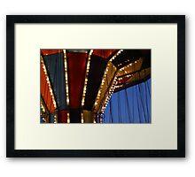 Carnival Ride 6 Framed Print