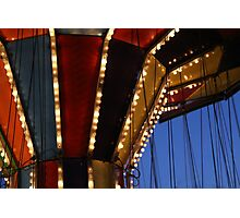 Carnival Ride 6 Photographic Print