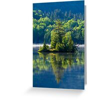 Canadian Summer Morning Greeting Card