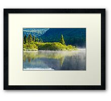 Summer Morning Framed Print