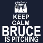 Keep Calm - Bruce is pitching (dark color) by Daire Ó'Hearáin-Olsen