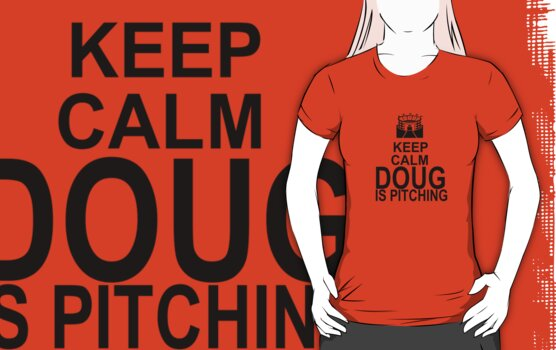 Keep Calm - Doug is pitching by Daire Ó'Hearáin-Olsen