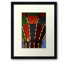 Carnival Ride 8 Framed Print