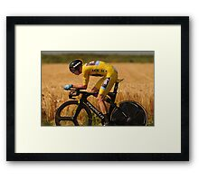 Christopher Froome Framed Print