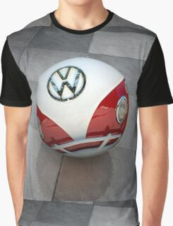 VW ball _ Red Graphic T-Shirt