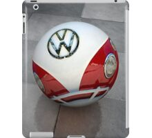 VW ball _ Red iPad Case/Skin