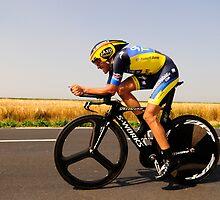 Alberto Contador by Eamon Fitzpatrick