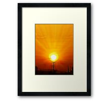 ©HCS Sky Candel Paintography Framed Print