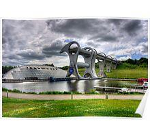 Rotating Boat Lift Poster