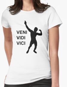 Zyzz - Veni Vidi Vici Womens Fitted T-Shirt