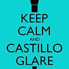 Keep Calm and Castillo Stare - Aqua (Miami Vice) by olmosperfect