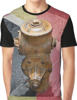 sunset fire hydrant Graphic T-Shirt