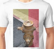 sunset fire hydrant Unisex T-Shirt