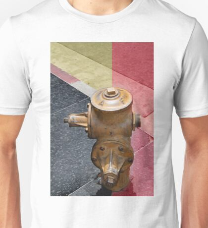 sunset fire hydrant Unisex T-Shirt