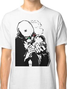 Transmetropolitan - Spider Jerusalem Smoking Classic T-Shirt