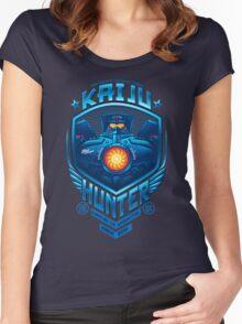 Kaiju Hunter Women's Fitted Scoop T-Shirt