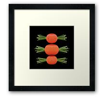Sweet Carrots Framed Print