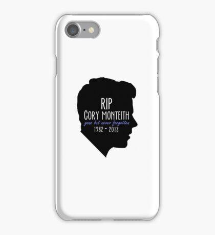 Rest In Peace Cory iPhone Case/Skin