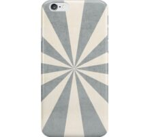 gray starburst iPhone Case/Skin