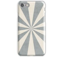 gray starburst iPhone Case/Skin