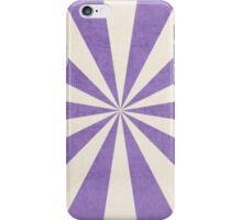 purple starburst iPhone Case/Skin