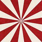 red starburst by beverlylefevre