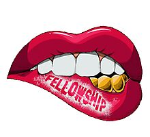 Fellowship Lips  Photographic Print