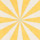 light yellow starburst by beverlylefevre