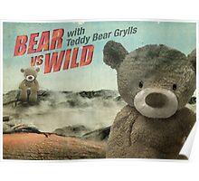 Teddy Bear Grylls Poster